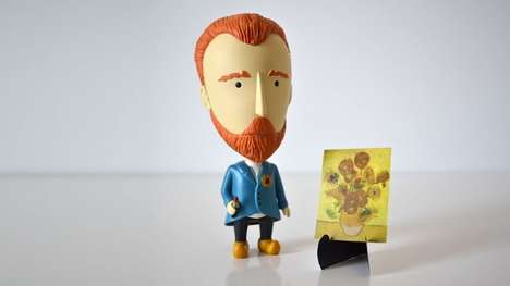Dutch Painter Action Figures - This Unique Van Gogh Collectible Has an Ear That Can Be Detached