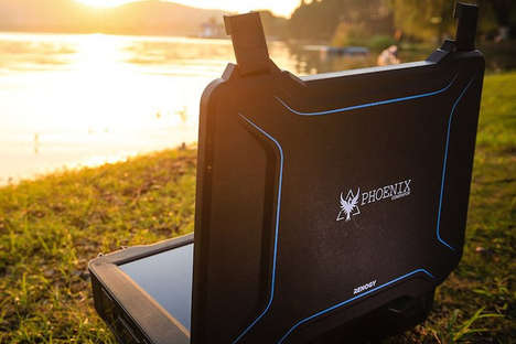 Briefcase-Sized Solar Generators - The Renogy Phoenix is Powerful and Portable