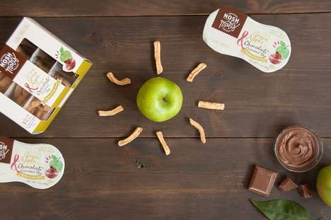 Sweet Dip Kits - 'Nosh Mates' Pairs Fruit and Pretzel Snacks with Sweet Dips
