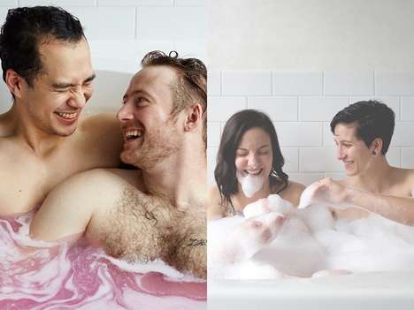 LGBTQ Love Campaigns - Lush Cosmetics' Campaign for Valentine's Day Focuses on Inclusivity