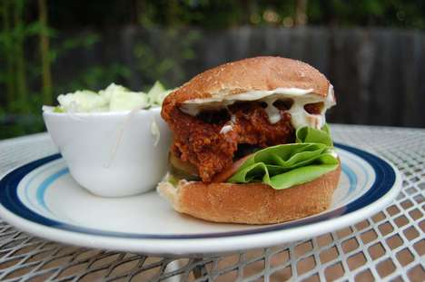 Thai Chicken Sandwiches - The Thai Fresh Restaurant Offers Intense Flavors in Its Sandwiches