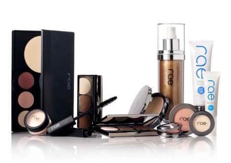 Sweat-Resistant Cosmetics - Rae Cosmetics Provides Makeup to Keep Up with One's Active Lifestyle