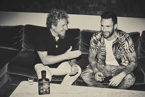 Mezcal Tequila Blends - Sammy Hagar and Adam Levine are Behind Santo Mezquila