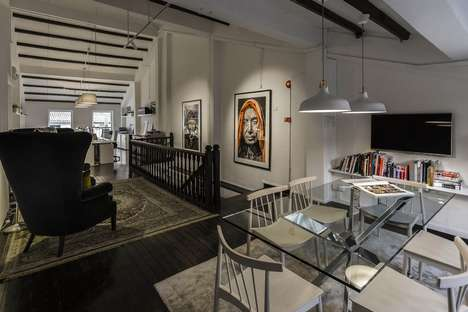 Lofted Interior Design Offices - Elliot James Designed its Own Contemporary Office Space