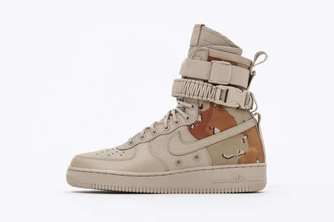 Desert-Inspired Camouflage Sneakers - These New Nike SF-AF1s Have a Masculine, Military Look