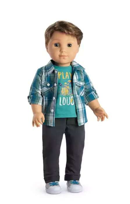 Drummer Boy Dolls - The Newest American Girl Doll is Logan Everett, the Brand's First-Ever Boy
