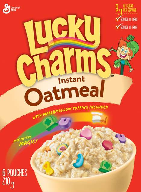 Cereal-Flavored Oatmeals - General Mills Now Makes Cinnamon Toast Crunch and Lucky Charms Oatmeal