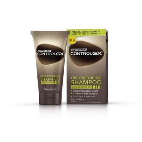 Effortless Gray-Away Shampoos - Control GX's Shampoo Permanently Reduces Gray Hair in Men