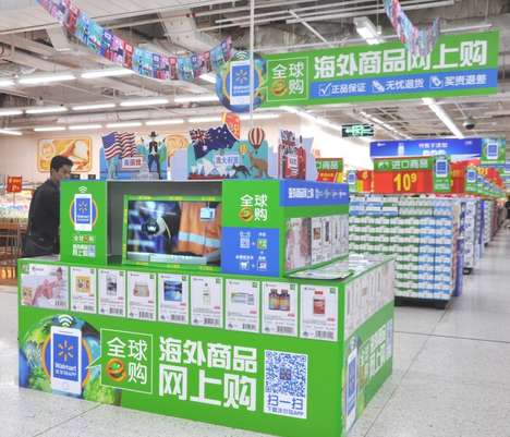 Cross-Border E-Commerce Services - The Walmart Global Shop Lets Consumers Purchase from Overseas