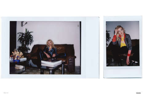 Candid Polaroid Editorials - The Ones 2 Watch 'Lean Into It' Series Highlights Casual Apparel