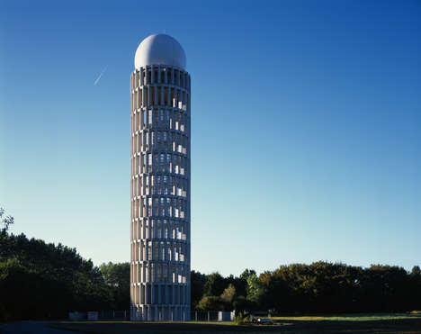 Latticed Radar Towers - The Paris Orly Airport Radar Tower has an Architectural Design