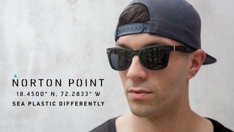 Recycled Ocean Sunglasses - Norton Point Sunglasses are Made with Plastic Recovered from the Ocean
