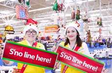 Department Store Holiday Helpers - Walmart's Holiday Helper Staff Aimed to Speed Up Checkout Times