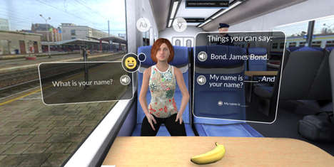 VR Language-Learning Apps - Mondly Uses Immersion to Teach Users New Languages