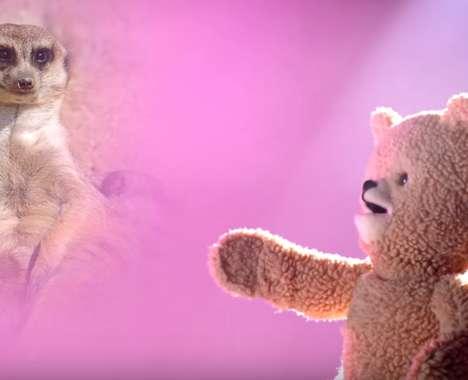 Serenading Teddy Bear Commercials