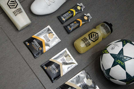 Soccer-Specific Energy Foods - The Soccer Supplement Range Aims to Improve Users' Overall Health