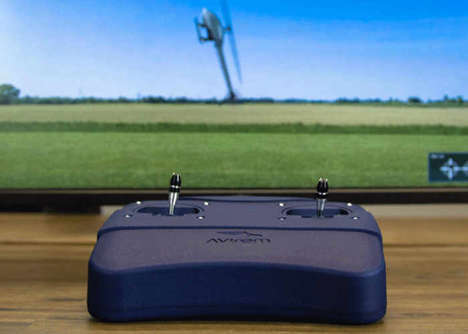 Educational RC Learning Systems - The 'StickMover' Lets You Try Out Remote Control Aircrafts