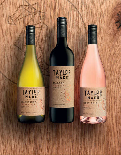 Artisanal Wine Labeling - 'Taylors Wines' Rebranded Its Bottles to Target Younger Consumers