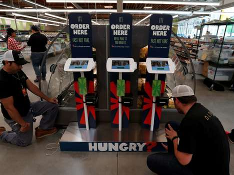 In-Store Ordering Kiosks - 365 by Whole Foods Stores Feature iPad Kiosks for On-Site Food Orders
