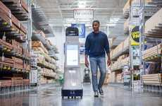 Autonomous Retail Robots - Lowe's 'LoweBot' is an Automated Retail Service Tool