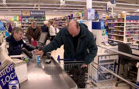Relaxed Checkout Experiences - Tesco Introduced a Relaxed Checkout Lane for Slower Customers