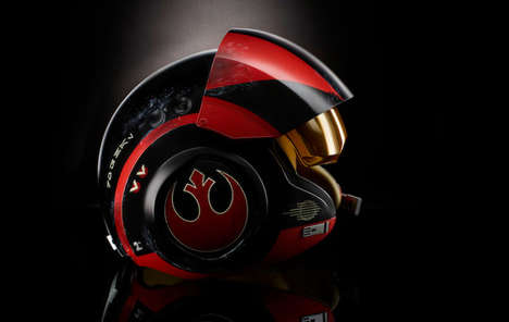 Toy Sci-Fi Helmets - The Black Series Poe Dameron Helmet is a Piece of Star Wars Merchandise