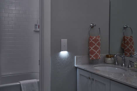 Light Switch Illuminators - The SnapPower SwitchLight Replaces Normal Switch Covers