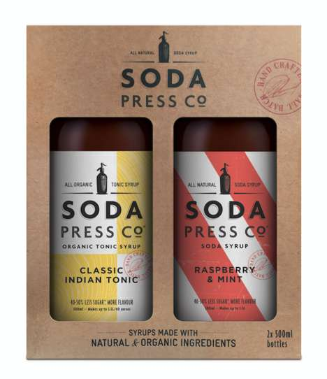 Craft Soda Gift Packs - Soda Press Co. Offers Dual Sampler Kits With Bold Flavors