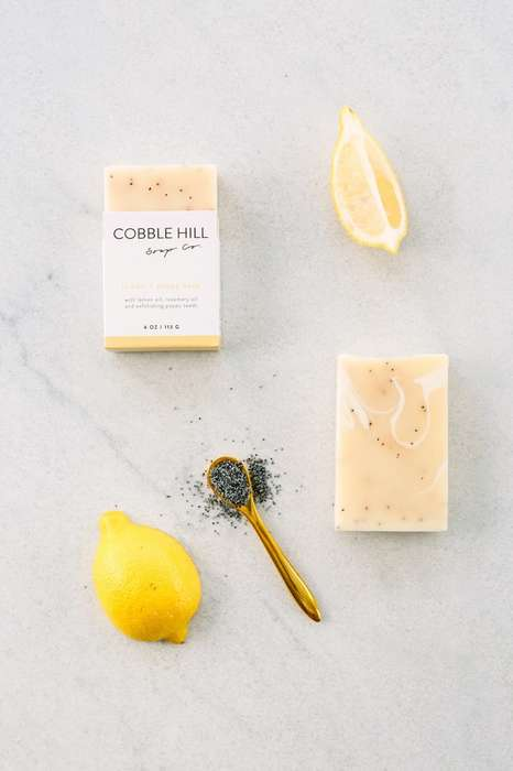 Farm-Sourced Soap Collections - Cobble Hill Soap Offers a Range of Natural Cleansing Products