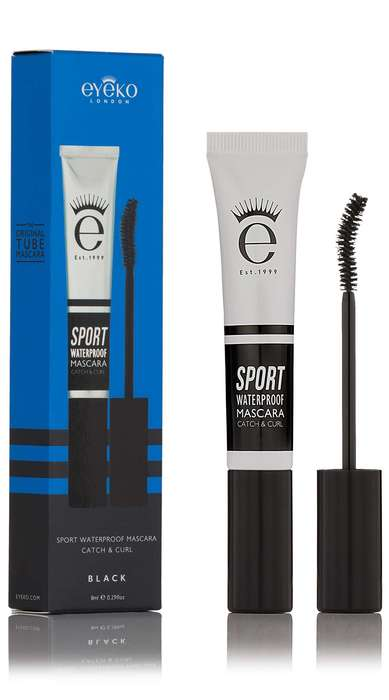 "Athletic Mascara Marketing - Eyeko's Waterproof Eye Makeup is Branded as a ""Sport"" Mascara"