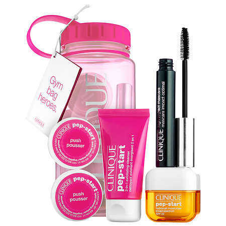 Sweat-Ready Beauty Sets - Clinique's Pep Rally Kit Packs Gym Bag Essentials into a Water Bottle