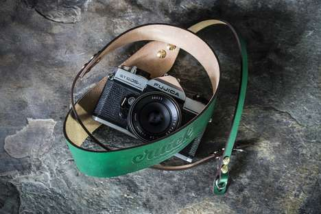 Premium Artisan Camera Straps - The Cruick Leather Camera Straps are Designed to Last a Lifetime