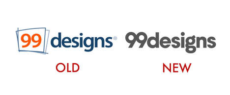 Crowdsourced Company Logos - '99designs' Turned to Its Community of Designers for Its New Logo