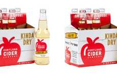 Lightly Carbonated Hard Ciders - The Portland Kinda Dry Cider is a Refreshing Alternative to Beer