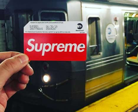 Streetwear Brand Transit Cards