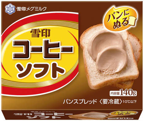 Caffeinated Sandwich Spreads - Snow Brand Coffee is Launched Its Popular Product in Spread Format