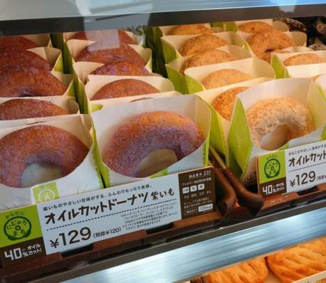 Low-Fat Donut Lines - Japan's Mr. Donut Launched a Collection of Healthy Donuts