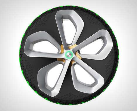 Interchangeable Cartridge Tires