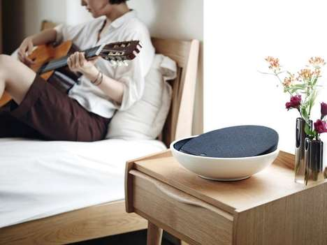 Ceramic Bow Speaker Systems - The KEAS MOV-1 Ceramic Audio Speaker System Offers Impeccable Sound