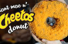 The Giant Mac N' Cheetos Homemade Donut is Overwhelmingly Indulgent
