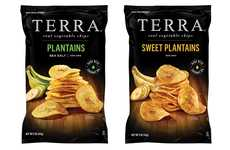 The TERRA Plantain Chips are Made with Minimal Ingredients