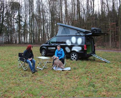 Dog Kennel Camping Vans