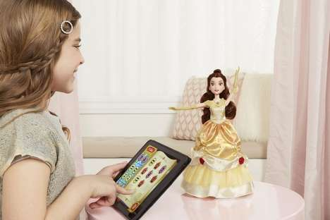 Programmable Dancing Dolls - The Hasbro Dance Code Belle Character Toy Teaches Rudimentary Code