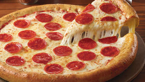 Herbaceous Stuffed Crust Pizzas - Chuck E. Cheese Recently Added Stuffed Crust Pizza to Its Menu