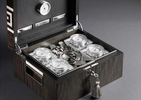 Luxurious Tea Humidors - The Lotusier Tea Humidor is the First in the World