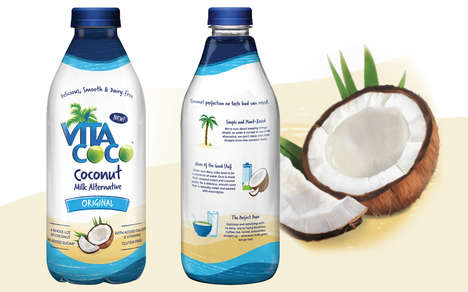 Hybrid Coconut Milks - The Vita Coco Coconut Cream Milk Alternative is Smooth and Dairy-Free