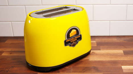 Grilled Cheese-Making Toasters - The Smart Planet Grilled Cheese Toaster is Made for Sandwiches