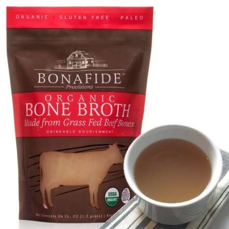 Savory Restorative Broths - The Bonafire Restorative Beef Bone Broth is Rich in Nutrients