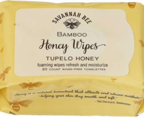 Biodegradable Bamboo Body Wipes