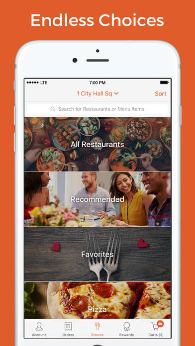 Check-Splitting Delivery Apps - Foodler Makes It Easier to Order Delivery with Friends